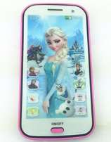 Frozen Phone Touch Screen Children Educational Learning Toys Gifts