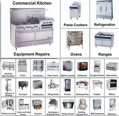Maintenance for commercial Kitchen Equipments at affordable prices.