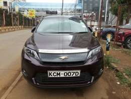 2017 Brand New Toyota Harrier Brown For Sale Asking Price 5,250,000/=