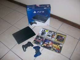 PS3 + Games + 2 controls R2300