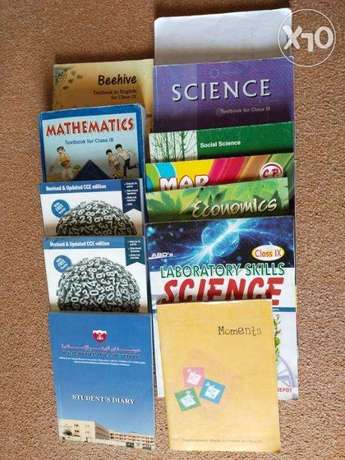 9th standard book's available