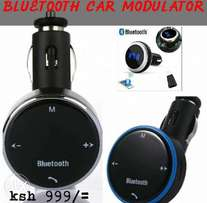 Car Bluetooth transmitter and charger