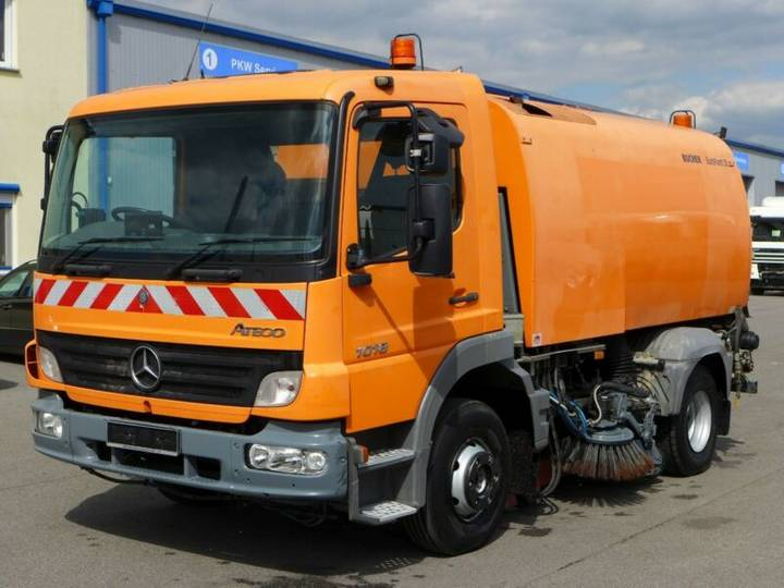 Mercedes-Benz Atego 1018*Bucher Eurofant 50*Re/Li kehren*Klima - 2006