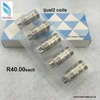 ijust2 coils for sale
