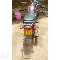 Brand as new,free from accident and well maintain motorbike