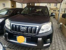 Registered Toyota Prado 2011 bought & maintained by Germaine motors,