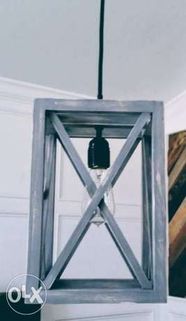 Contemporary industrial steel - pendant light