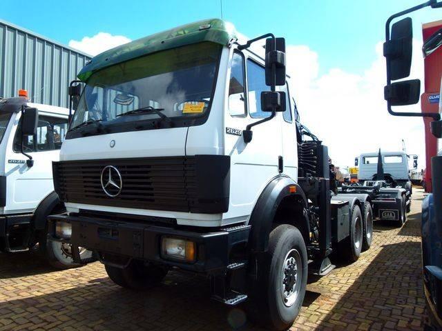 Mercedes-Benz 2629 As - 6x6 - Effer 14.100 Crane - 1991