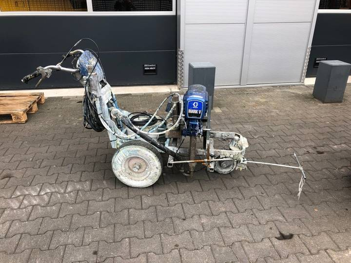 Graco  Mark V Linelazer spuitmachine