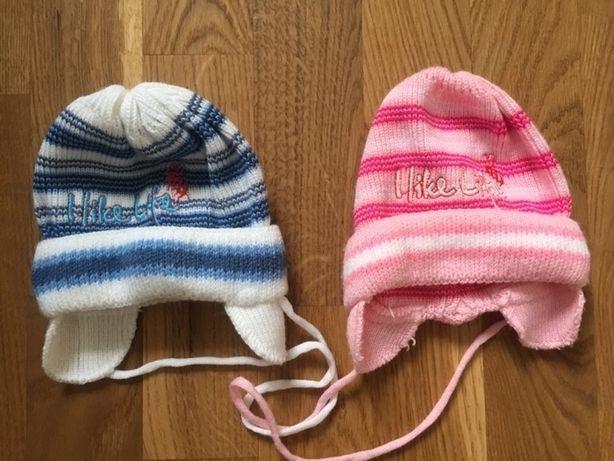 Шапки демісезонні для новонароджених хлопчика і дівчинки для двійні Луцьк -  зображення 1 db14844ea7cdd