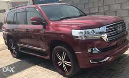 2014 Toyota Land Cruiser V8 Modified to 2016 model