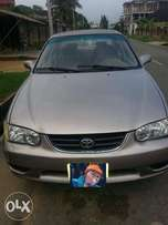 Toyota Corolla 2002 in good condition.Readily available for inspection