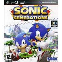 Sonic Generation Ps3 Game