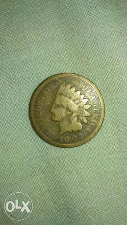 Indian Head USA Cent year 1902