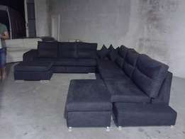 Black donkey convatable L sofa set, at 850000/-only a viable on order.