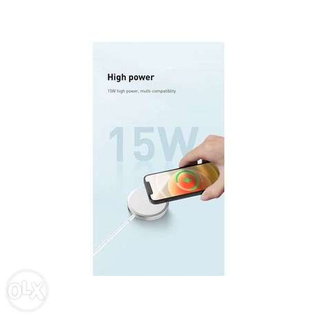 Wireless Charger for iPhone , 15W Fast Charging Qi Magnetic Charging