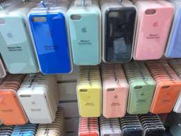 iphone silicon back covers original