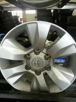 """17""""inch wheels for Toyota Hillux bakkies new on sale set of four."""