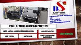 Panel Beaters, Spray Painters and Dent Removers - DS Motors