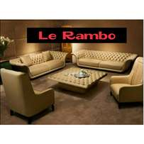 Le Rambo Sofa Set Packages With Center Table piece 1,800,000/- $520