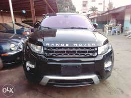 A bought brand new range rover evogue