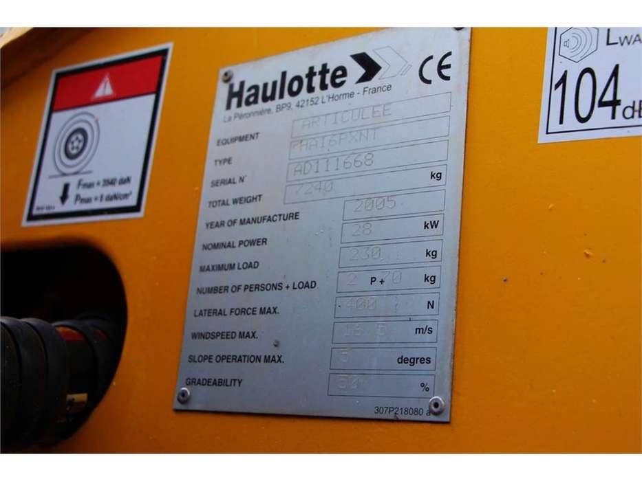 Haulotte HA16PXNT - 2005 - image 6