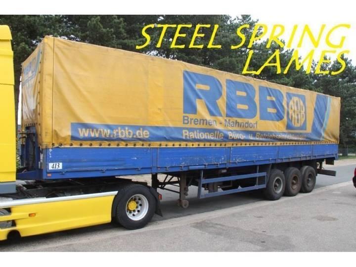Bunge 3-essieux Lames - Bacher + Ridelles / Steel Spring - Alu - 1990