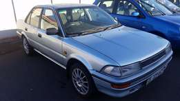 1988 Toyota Corolla 1.6 Automatic 235900Km Silver Very Good Condition