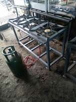 Gas cooker three barner