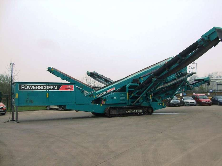 Used Powerscreen Screeners for sale | Tradus com