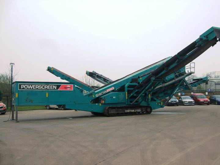 Powerscreen Chieftain 2100x - 2013