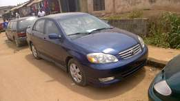 Very Clean Tokunbo Toyota Corolla Sport 04