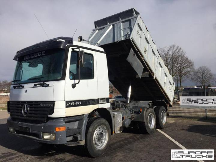 Mercedes-Benz Actros 2640 / 3340 Full Steel - EPS 3 pedals - Big axle - 2000