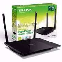 TP LINK 450Mbps Wireless Router double antena