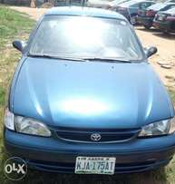 Neatly used Toyota Corolla 2000, first body for sale. 700k negotiable.