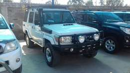 Toyota Landcruiser just arrived