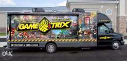 Game Truck & Event Fun Games Provider (Rental Only)