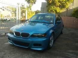 BMW E46 Motorsport facelift