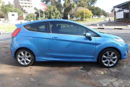 2010 model,ford fiesta 1.6 sport hatchback,blue,for sale