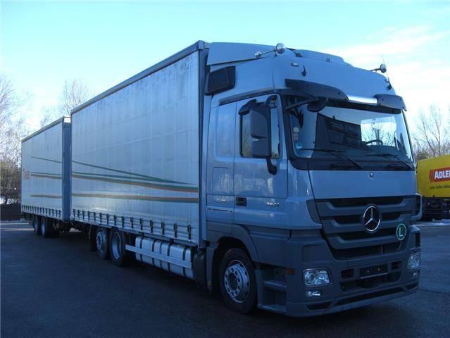Mercedes-Benz 2541LL 6X2 KOMLETTER ZUG - 2012