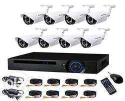 8 channel CCTV