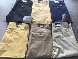 Stretchy and Soft Men Khaki Trousers