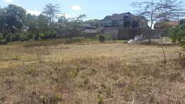 1/8th plot in a gated community in Kikuyu town at 8.5m negotiable.