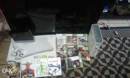 Tv, Xbox and Wii