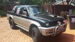 2001 Mitsubishi Colt 2.8TDI Double Cab Bakkie for sale