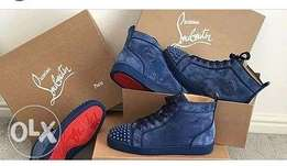 Nice blue Louboutin fancy wear