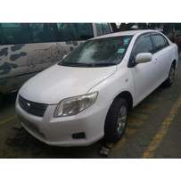 USED TOYOTA AXIO REG NO KCE Yom 2008 cc 1500 auto buy and drive.