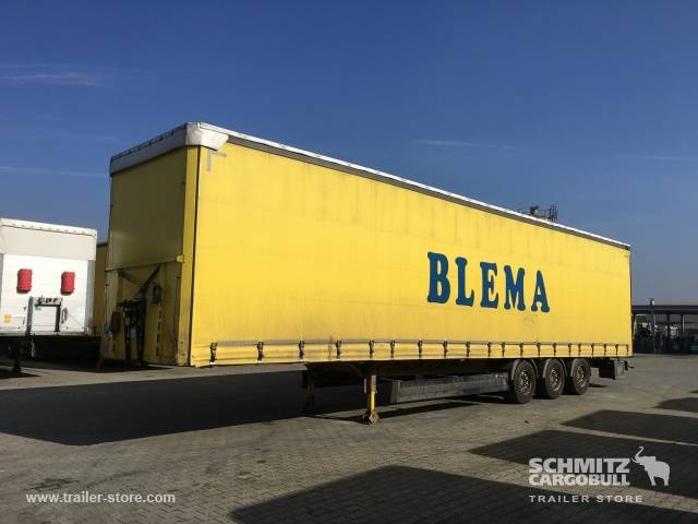 Berger Curtainsider Mega Side door both sides - 2015