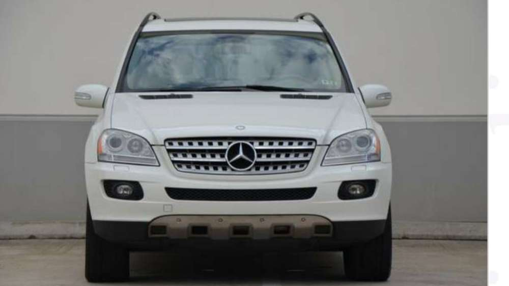 CLEAN WHITE FOREIGN USED 2008 MERCEDES BENZ ML350 0