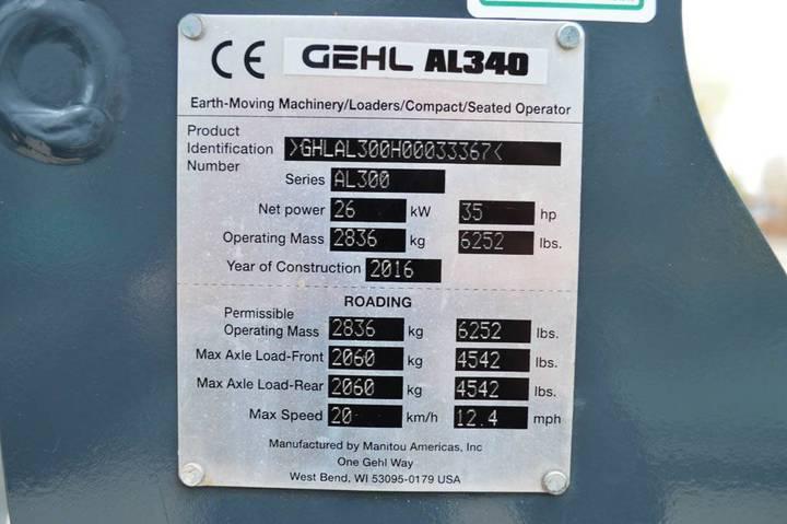 Gehl Al340 (4-post) - 2016 - image 19